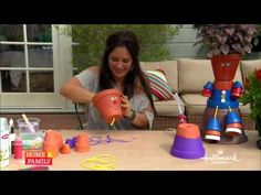 Tanya Memme DIY: How to make Flower Pot People! - YouTube