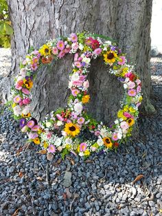 Hippiehochzeit#peace#bunt
