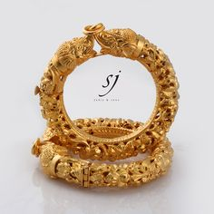 Satyanarayan J Jadia & Sons Jewellers Pvt Ltd Gold Bangles Design, Gold Jewellery Design, Gold Jewelry, Jewelery, Bridal Bangles, Wedding Jewelry, Silver Ankle Bracelet, Jelsa, Antique Jewelry