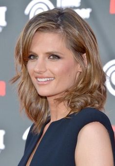 Stana Katic. Just search Stana Katic Hair and I pretty much love all of those. Her hair so so amazing!