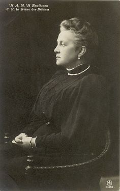 Queen Olga of Greece, nee Grand Duchess Olga Constantinovna Romanova of Russia