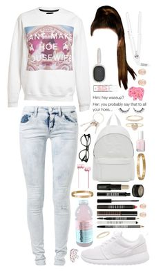 """""""A housewife."""" by dyciana ❤ liked on Polyvore featuring Cartier, T3, Joshua's, Essie, Accessorize, Lord & Berry, We Are Replay, Untitled & Co, NIKE and Beats by Dr. Dre"""