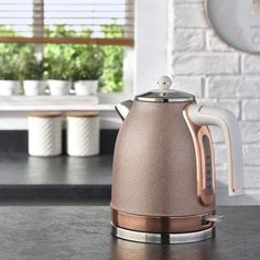 Glam up your kitchen with this stunning Rose Gold Kettle! Available in-store and. Glam up your kitchen with this stunning Rose Gold Kettle! Available in-store and.