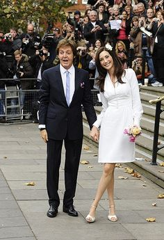 Sir Paul McCartney weds Nancy Shevell - in pictures