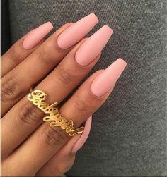 Beauty pink nails ❤