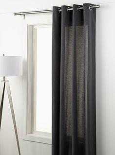 Le rideau toile de coton 135x220 cm | Simons Maison | Magasinez des Rideaux de Couleur Unie en ligne | Simons