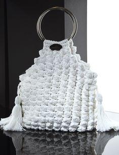 Matoohandmade  Crochet Pouch Crochet Handbags, Crochet Purses, Crochet Pouch, Crochet Bags, Popcorn Stitch, Diy Purse, Best Bags, Crochet Accessories, Chanel Boy Bag