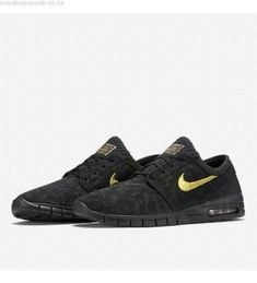 best service ff52c 76581 Nike SB Stefan Janoski Air Max QS Skateboarding Shoes Mens 11 Black 745955  070  Nike