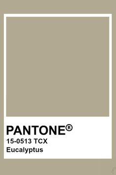 Pantone Eucalyptus Pantone Tcx, Pantone Swatches, Color Swatches, Pantone Color Chart, Pantone Colour Palettes, Pantone Colours, Flat Color Palette, Neutral Palette, Colour Schemes