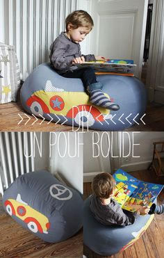 une bonne idée pour mes ptits gars...peut-être même en mettant la grosse couette d'hiver à l'intérieur