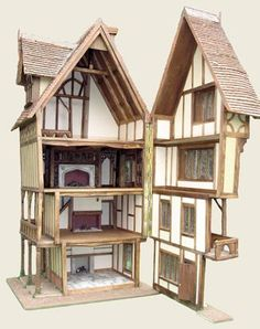 Find this Pin and more on Medieval/Tudor Dolls Houses and Miniatures by cathya1360.
