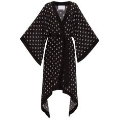 Athena Procopiou Voodoo silk kimono cover-up ($790) ❤ liked on Polyvore featuring swimwear and cover-ups