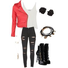 A fashion look from February 2015 featuring Mulberry tops, IRO jackets and Paige Denim jeans. Browse and shop related looks.