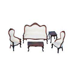 Five Piece Mahogany Living Room Set Dollhouse