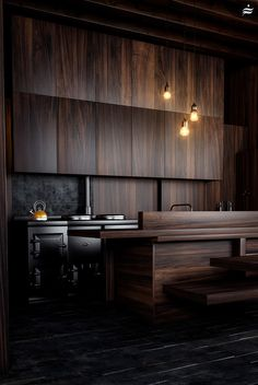 VrayWorld - Wood Kitchen