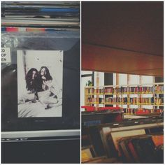 #wonderful #library #bibliolloret #lloretdemar #Spain #europe #johnlennon #yokoono  Foto: @dariadaniliuk Yoko Ono, John Lennon, Spain, Management, Polaroid Film, Europe, Instagram, Hay, Sevilla Spain