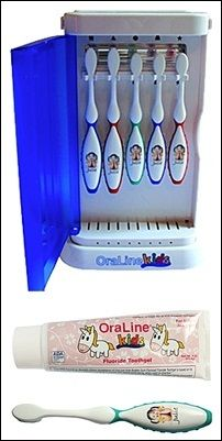 OraLine Introduces a New Way to Keep Kid's Toothbrushes Germ Free!