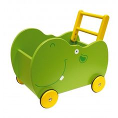Dřevěný vozík hroch 1021,-