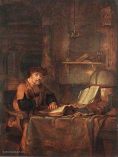 Gerbrand van den Eeckhout, Geleerde met zijn boeken