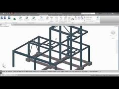 01 - Exporting Revit model to Advance Steel - YouTube