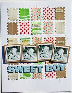 Super adorable layout by Melissa Mann!