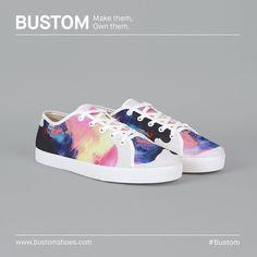 Inspiración del día __ Este diseño no está a la venta pero si te gusta o crees que puedes hacerlo mejor pronto podrás hacerlo utilizando nuestro customizador. __ #bustom #bustominspire #bustomshoes #makethemownthem #shoeoftheday