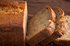 What a great way to use up a surplus of bananas. Sour Cream–Banana Bread