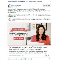 How to get traffic back to your website that didn't originally convert using Facebook. This post rocks!