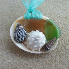 Delightful Seashell Necklace by catherinestreasures on Etsy, $10.00