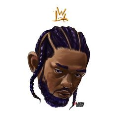 Kung-fu Kenny Kendrick Lamar Art, Kung Fu Kenny, Rapper Delight, Rapper Art, World Pictures, Aesthetic Stickers, Artist Art, Swagg, Cool Art
