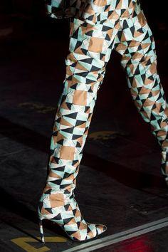 Fausto Puglisi at Milan Fashion Week Spring 2017 - Details Runway Photos
