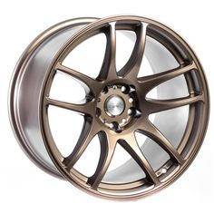 I love the color of those hubcaps. The bronze color is so unique, and I would love to have something like this on my car. We just got a new car, so I think they would look really nice.