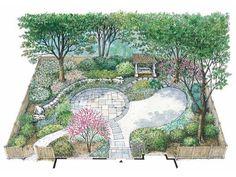 HWBDO11148 - Landscape Plan from BuilderHousePlans.com