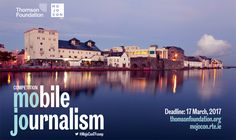 The Thomson Foundation has once again teamed up with RTE MojoConIreland to launch its third Mobile journalism competition 2017. Works will be judged by an expert panel who will be looking for a feature story or news report shot and edited entirely on a mobile device, which excites, intrigues and surprises them and demonstrates impact