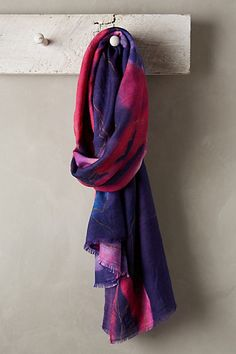 Frozen Rose Scarf #anthropologie