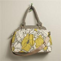 Finally a camera bag that looks like and handbag! I love it!
