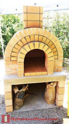 Lovely Brick Outdoor Wood Fired Pizza Oven 100cm X 100cm Rustic-italian Model Outdoor Cooking & Eating Barbecues, Grills & Smokers