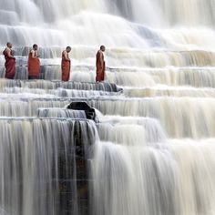 the ultimate feeling of joining nature - Pongua Falls, Vietnam