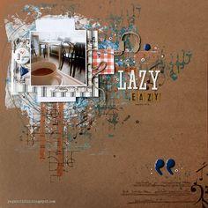 Lazy Eazy - GDT CSI / Scrap FX - Scrapbook.com