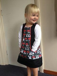 LittleKiwisCloset Beachcomber Pinny Dress 0-3m - 12yrs PDF Sewing Pattern