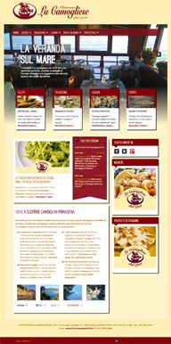 "Online since May 2012,  Restaurant ""La Camogliese, dal 1912"" Camogli (GE), Italy."