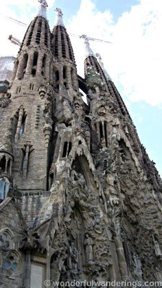Things to do in Barcelona, Spain - Sagrada Familia