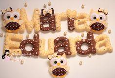 Wool Felt Name Alphabet by Ei Menina! Felt Crafts, Diy And Crafts, Crafts For Kids, Erica Catarina, Felt Name, Alphabet Templates, Felt Banner, Felt Stories, Felt Wreath