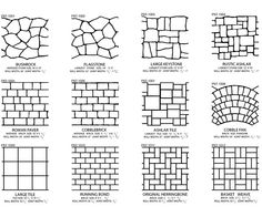 Decorative Brick Pavers concrete driveway, stenciled brick bands site custom ram design