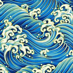 japanese water color of water at DuckDuckGo Japanese Wave Painting, Japanese Waves, Japanese Water Tattoo, Wave Drawing, Wave Illustration, Water Patterns, Batik Art, Wave Art, Japanese Patterns