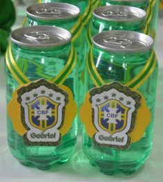 Mamães, mais fotos dessa festa infantil verde-amarela/Copa do Mundo em: http://mamaepratica.com.br/2014/06/12/mamae-em-festa-verde-e-amarelo/ Foto: blog Mamãe Prática