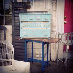 Industrial drawer set