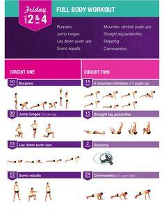 Bikini Body Guide - Friday (Week 2 and Week 4)