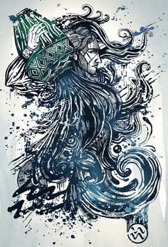 I want a tattoo incorporating this and the Capricorn art.
