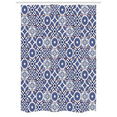 East Urban Home Old Ottoman Inspired Mix of Moroccan Tiles in Shades Artwork Print Dining Room Kitchen Tablecloth Size: Picnic Tablecloth, Tablecloth Sizes, Tablecloth Fabric, Round Tablecloth, Fitted Tablecloths, Kitchen Tablecloths, Moroccan Print, Moroccan Tiles